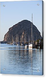 Morro Bay Sailboats Acrylic Print by Bill Brennan - Printscapes