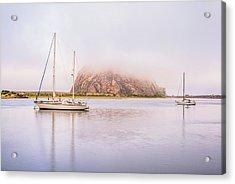 Morro Calm #3 Acrylic Print by Joseph S Giacalone