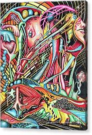 Mortal Fiber Acrylic Print