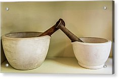 Acrylic Print featuring the photograph Mortar And Pestle by Paul Freidlund