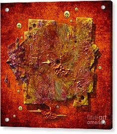 Mortar Disc Acrylic Print