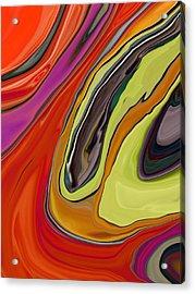 Mosaic Abstract Acrylic Print