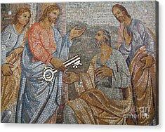 Mosaic Acrylic Print by Milena Boeva