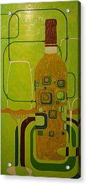 Mosaic Relief Acrylic Print
