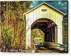 Mosby Creek Bridge Acrylic Print