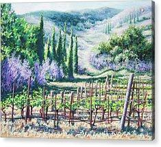 Mosby's Vines On Santa Rita Hills Acrylic Print