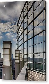 Acrylic Print featuring the photograph Moscone West Balcony by Darcy Michaelchuk