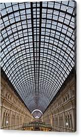 Moscow Gum  Acrylic Print by Stelios Kleanthous