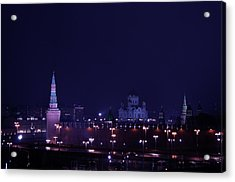 Moscow Kremlin Acrylic Print
