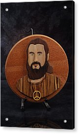 Moses Acrylic Print by Steve Weber