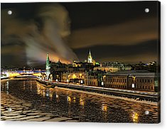 Moscow River Acrylic Print