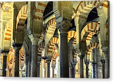 Mosque Cathedral Of Cordoba 2 Acrylic Print