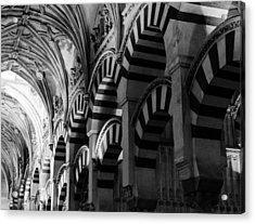 Mosque Cathedral Of Cordoba 6 Acrylic Print by Andrea Mazzocchetti