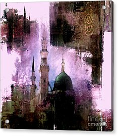 Mosque Nabvi  Acrylic Print by Gull G