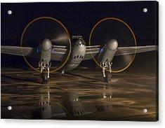 Mosquito Night Engine Run Acrylic Print