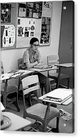Most Scholarly Student, 1972 Acrylic Print
