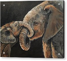 Mother And Baby Acrylic Print