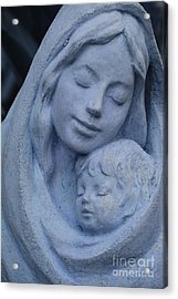 Mother And Child Acrylic Print by Susanne Van Hulst