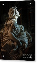 Mother And Child Acrylic Print by Vyacheslav Isaev