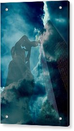 Mother Charlotte Acrylic Print by Diane Payne