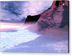 Mother Earth Acrylic Print by Corey Ford