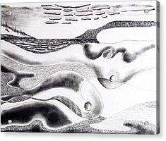Mother Earth Acrylic Print by Douglas Pike