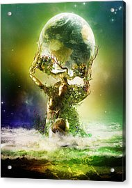 Mother Earth Acrylic Print by Mary Hood
