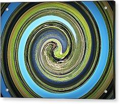 Mother Earth Acrylic Print by Scott Haley