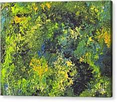 Mother Earth Acrylic Print by Shelly Wiseberg