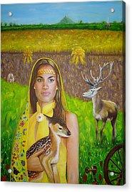 Mother Goddess Ker - Lammas Acrylic Print