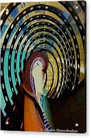Mother Goose Acrylic Print by AlyZen Moonshadow
