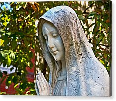 Mother Mary Acrylic Print