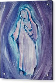 Mother Mary Essence Acrylic Print