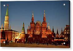 Mother Moscow Acrylic Print by JAMART Photography