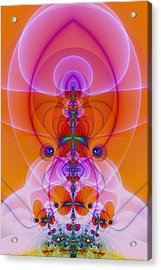 Mother Nature Acrylic Print by Sacred Visions