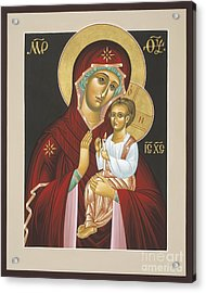 Mother Of God Light In All Darkness 016 Acrylic Print