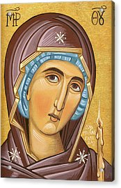 Mother Of God Acrylic Print