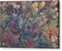 Mother Of Pearl Acrylic Print by Don  Wright
