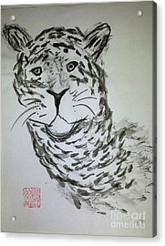 Mother Sister Jaguar Acrylic Print