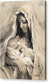 Motherhood Acrylic Print