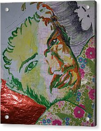 Mothering Max Acrylic Print by Tilly Strauss