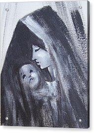 Motherly Love Acrylic Print by Martha Mullins