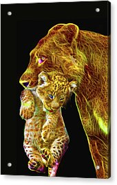 Motherly Love Acrylic Print by Michael Durst