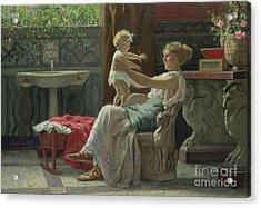 Mother's Darling  Acrylic Print by Zocchi Guglielmo