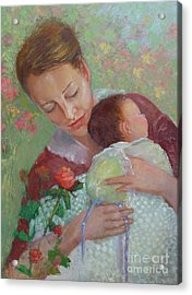 Mother's Day    Copyrighted Acrylic Print by Kathleen Hoekstra