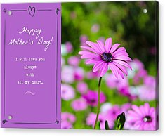 Mother's Day Love Acrylic Print