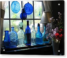 Mother's Day Window Acrylic Print by John Scates