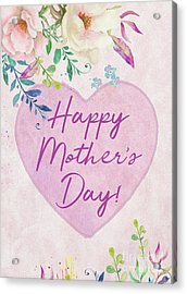 Mother's Day Wishes Acrylic Print