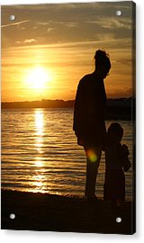 Mother's Guidance  Acrylic Print by Matthew Kennedy