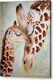 Mothers Love Acrylic Print by Carol Grimes